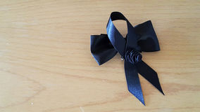 2 black bows. Stock Image