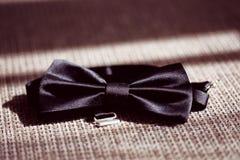 Black bowtie tux Stock Photo