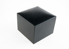 Black box. On a white background Royalty Free Stock Image