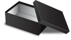 Black box Royalty Free Stock Photo