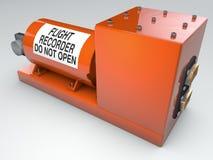 Black Box, el dispositivo de grabación de datos Foto de archivo