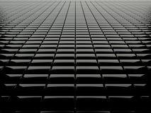 Black box grid Stock Image