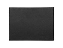 Black box isolated on white Stock Images