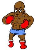 Black boxer Stock Photo