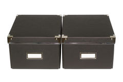 Black boxes Royalty Free Stock Images