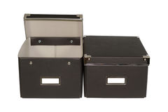 Black boxes Royalty Free Stock Photography