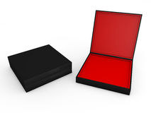 Black boxes Stock Photo
