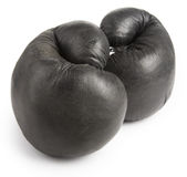 Black boxing-glove Stock Photos