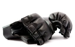 Black boxing gloves Royalty Free Stock Image