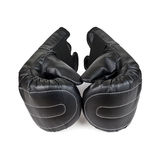 Black Boxing Gloves isolated on a white background Stock Image