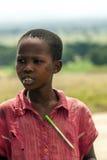 Black boy looking Stock Image