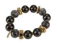 Black bracelet Stock Photo