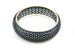 Black Bracelet Royalty Free Stock Images