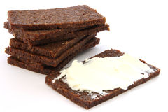 Black bread Royalty Free Stock Photos