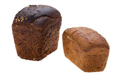Black bread close up Royalty Free Stock Photos
