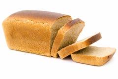 Black bread loaf Stock Images