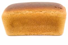 Black bread loaf Stock Photo