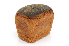 Black bread from rye flour Royalty Free Stock Photos