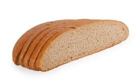 Black bread slices Stock Image