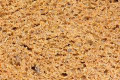 Black bread texture Royalty Free Stock Photos