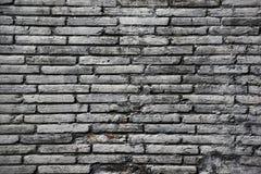 Black brick wall Stock Images