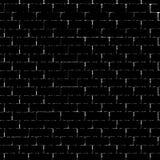 Black brick wall silhouette Royalty Free Stock Image