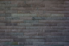 Black brick wall texture and background. Old brick wall texture and background Stock Photo
