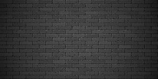 Black brick wall texture Royalty Free Stock Photo