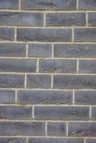 Black brick wall Royalty Free Stock Image