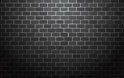 Black brick wall vector illustration background vector illustration