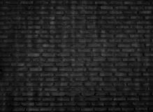 The black brick wall is a vintage style background stock images