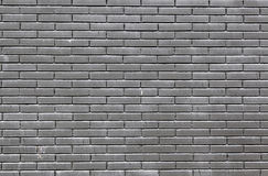 Black bricks in a wall Royalty Free Stock Images