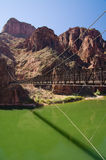 Black Bridge in Grand Canyon Stock Photo