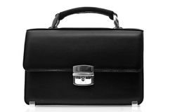 Black brief-case Stock Photography