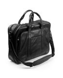 Black briefcase Royalty Free Stock Photo