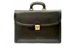 Black briefcase Royalty Free Stock Photos