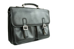 Black briefcase Royalty Free Stock Images