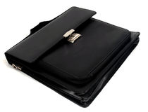 Black briefcase II Royalty Free Stock Photo