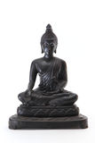 Black bronze Buddha statue Stock Photos