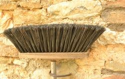 Black broom Stock Image