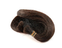 Black And brown hairpiece Royalty Free Stock Photography
