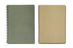 Black and brown notebook Stock Image