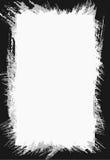 black brush frame Στοκ εικόνες με δικαίωμα ελεύθερης χρήσης