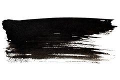 Black brush stroke Stock Photos