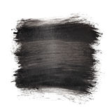 Black brush strokes. Abstract background, space for text royalty free illustration