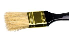 Black brush to paint isolated on white Stock Photo