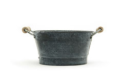 Black bucket Royalty Free Stock Photos