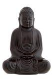 Black buddha Royalty Free Stock Image