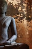 Black Buddha Statue Royalty Free Stock Image