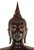 Black buddha statue isolated Stock Photography